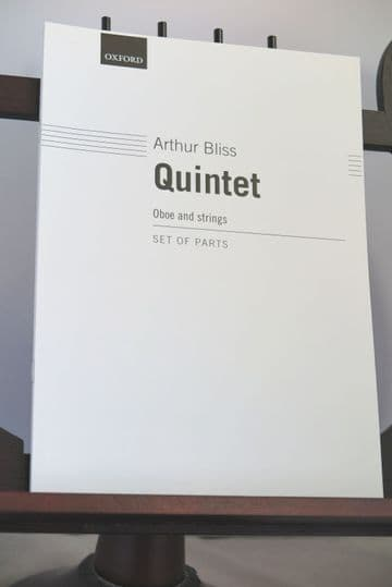 Bliss A - Quintet for Oboe & Strings